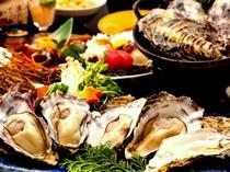 さまざまな調理法で牡蠣をお召し上がりください♪