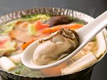 ぷりぷり牡蠣のお鍋
