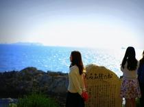 花岳寺の大石名残の松