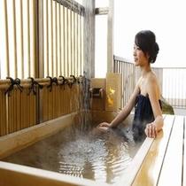 露天風呂付客室 露天風呂