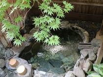 【露天風呂】 もみじ(緑)