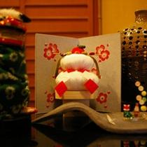 お正月を飾る鏡餅
