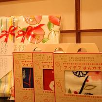 「京雑貨・くろちく」のアイデアハンカチ