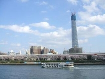 水上バス隅田川周遊・浅草散策プラン