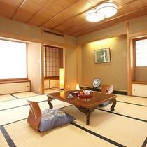 *客室一例/「温泉風呂付き客室」畳のお部屋でごろりとお寛ぎいただけます。