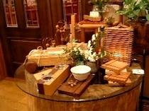 手作り木工の品々