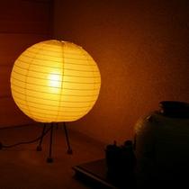 【館内】幻想的な明かりの空間でリラックス♪