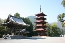 ◆観光スポット◆身延山五重塔