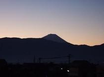 □景観□朝富士