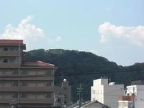 米子城跡(客室から)