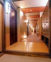 部屋風月亭入口