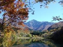 大源太湖の紅葉