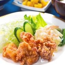◆レストラン_おつまみ「若鶏のからあげ」◆★