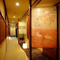 施設 渡り廊下