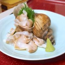 越中大バイ貝のお刺身