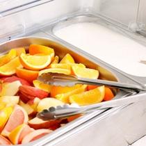 ◆無料朝食【フルーツ・ヨーグルト】◆