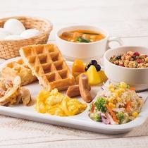 ◆朝食サービスの盛り付けはお好みでどうぞ◆