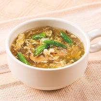 ◆日替わりスープ◆たまごとシイタケのチキンスープ◆