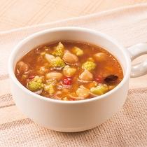 ◆日替わりスープ◆トマトチリビーンズ◆