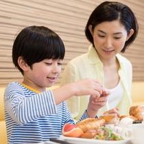 ◆添い寝のお子様も無料で朝食サービスをご利用いただけます◆