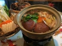 きび団子汁鍋