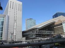 新しくなった大阪駅ビル!!