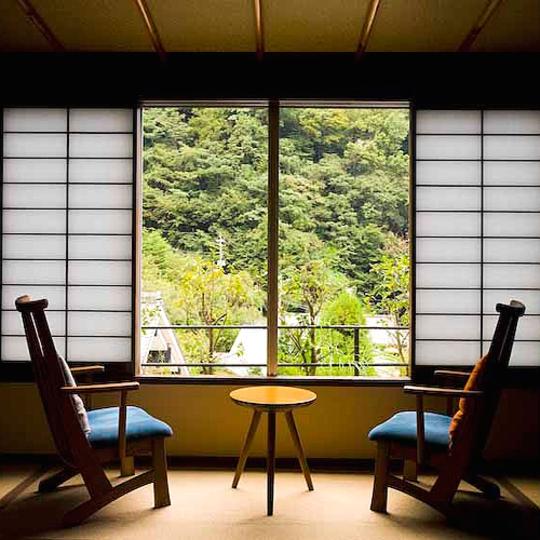 源泉内湯付き客室 写真提供:楽天トラベル