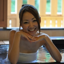 粋彩の露天風呂-モデル