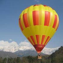 グリーンシーズンの熱気球1
