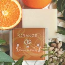 プラン特典。無添加手作り石けん専門店『オラン・ク・オラン』のオレンジ石けんです。