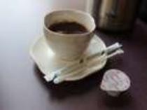 モーニングコーヒーを朝7時からロビーにてご用意しています。