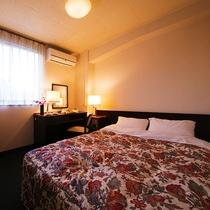 ■ダブル■15平米・ベッド幅140センチ    冷蔵庫なしのお部屋
