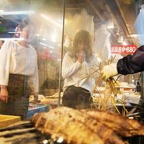 ■ひろめ市場■高知名物かつおの藁焼き♪徒歩7分