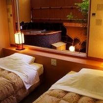 客室: 半露天風呂付客室 ※一例です