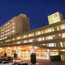 ホテルかめ福全景