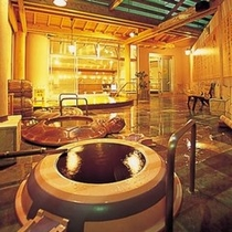 大浴場: 七福の湯(つぼ湯)