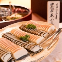 富山の食材を使用したおがわの朝ごはん
