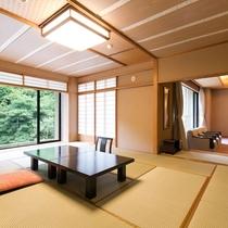 【準貴賓室】3世代やグループでのお泊りにも対応。