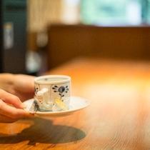 ロビー コーヒーコーナー