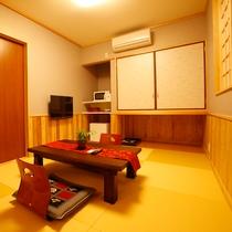 露天風呂付き離れ【優湯亭】和洋室〈Btype〉+和室4.5畳