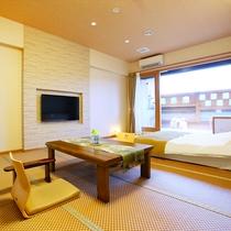 本館3階露天風呂付客室【隼人・和室】