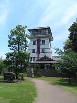 赤泊城の山公園展望台