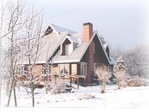 初冬の花の郷全景