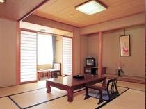伊勢湾を望む「和室(10畳)」一例