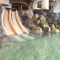 ※王朝大浴殿には滑り台もございます