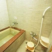 ※客室のお風呂はかけ流しの温泉です!