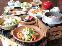 『岡山アヒージヨに舌鼓フラン』の夕食イメージ この内容でこの価格はお値打ち♪