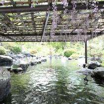 5月下旬の露天風呂「瑠璃の湯」
