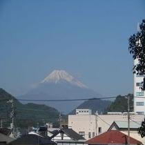 富士見から見た富士山