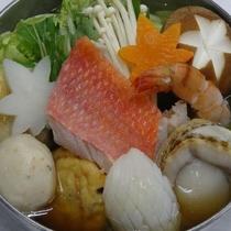 和食の海鮮鍋